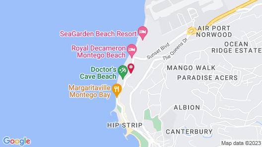 S Hotel Jamaica Map