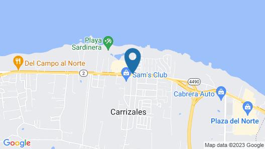 Parador El Buen Café Map