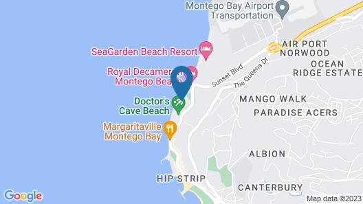Deja Resort All Inclusive Map
