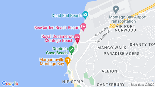 Royal Decameron Montego Beach - All Inclusive Map
