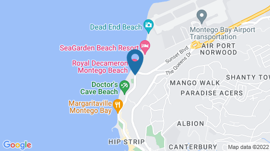 Royal Decameron Montego Beach - All Inclusive Map