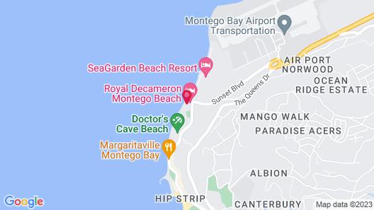 Royal Decameron Cornwall Beach All Inclusive Map