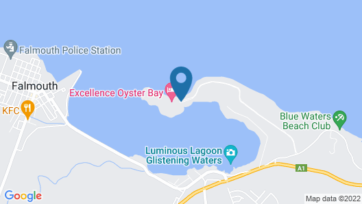 Excellence Oyster Bay- Adults Only - All-Inclusive Map