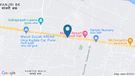 Hotel Jayshree Map