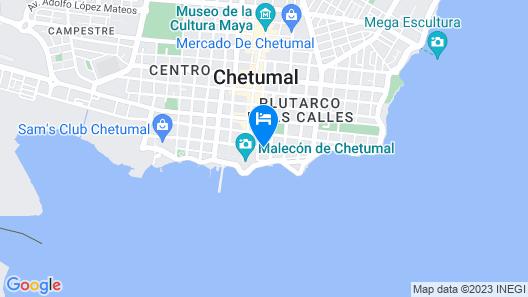 Hotel Villanueva Map