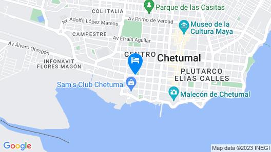Hotel Casa Blanca Map