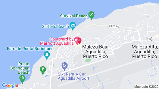 Courtyard by Marriott Aguadilla Map
