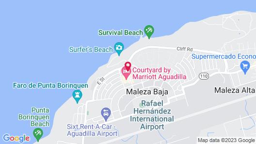 Punta Borinquen Resort Map