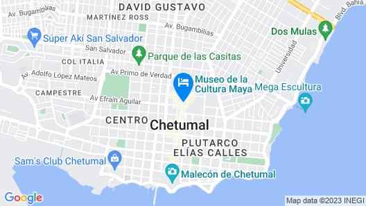 Capital Plaza Hotel Map