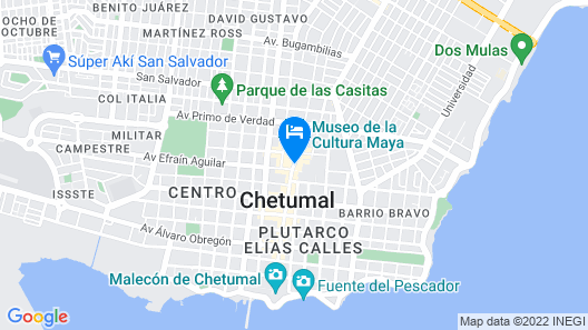 Hotel Juliet Map