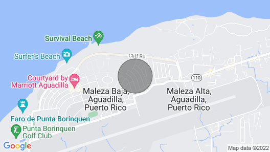 Costa Azul Suite  Map