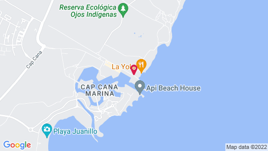 TRS Cap Cana Hotel - Adults Only Map