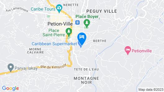 La Reserve Hotel Map