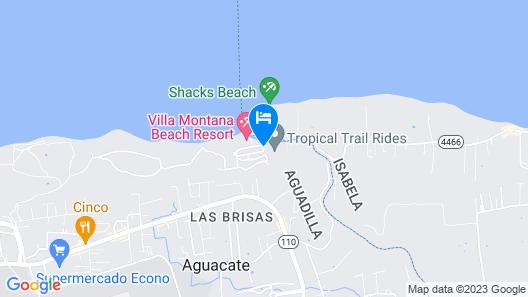 Villa Montana Beach Resort Map