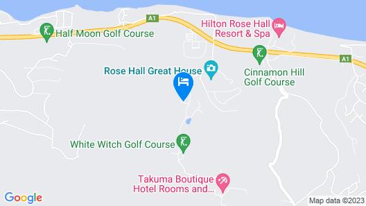 Paradise Plum, Montego Bay 4BR Map