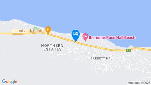 Iberostar Rose Hall Beach All Inclusive Map