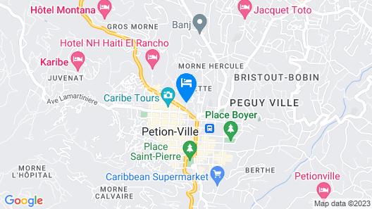 Villa Thérèse Map