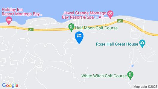 Nianna Luxurious Villa Map