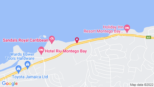 Zoetry Montego Bay Map