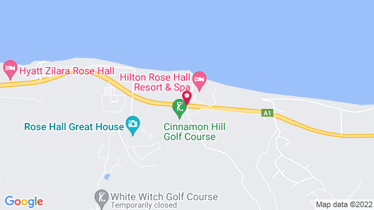 Hilton Rose Hall Resort and Spa – All Inclusive Map