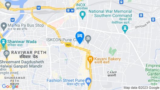 Hotel Sagar Plaza Map