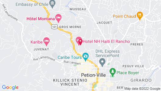 NH Haiti El Rancho Map