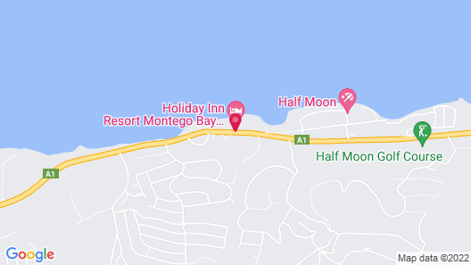 Holiday Inn Resort Montego Bay All-Inclusive Map