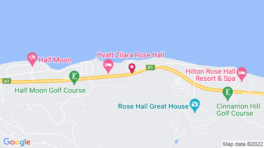 Hyatt Ziva Rose Hall – All Inclusive Map