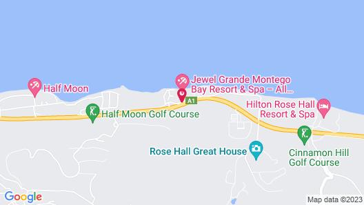 Jewel Grande Montego Bay Resort & Spa – All Inclusive Map