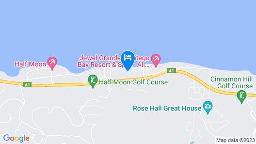 Hyatt Zilara Rose Hall Map