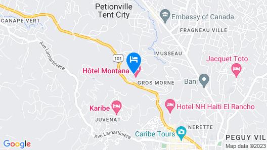 Hotel Montana Map