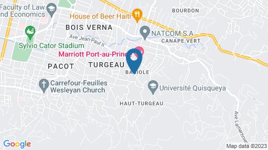 VILLA THEODORE Map