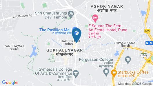 JW Marriott Hotel Pune Map