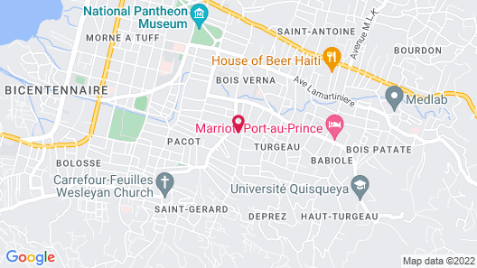 Wall's International Guest House Map