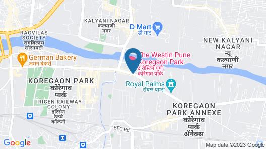 The Westin Pune Koregaon Park Map