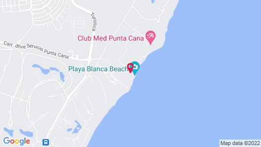 The Westin Puntacana Resort & Club Map