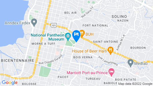 Le Plaza Hotel Map