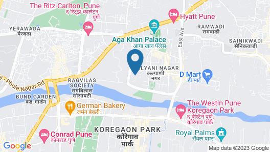 Advantage 2U Hospitality  Kalyani Nagar Map