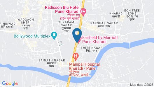 Fairfield by Marriott Pune Kharadi Map