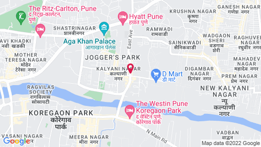 Royal Orchid Central Pune Map
