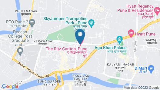 The Ritz-Carlton, Pune Map