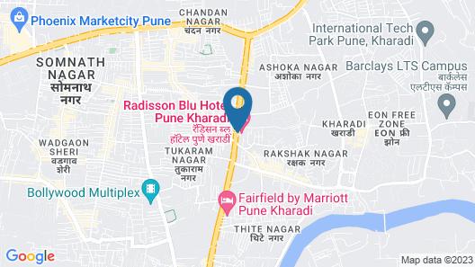 Radisson Blu Hotel Pune Kharadi Map