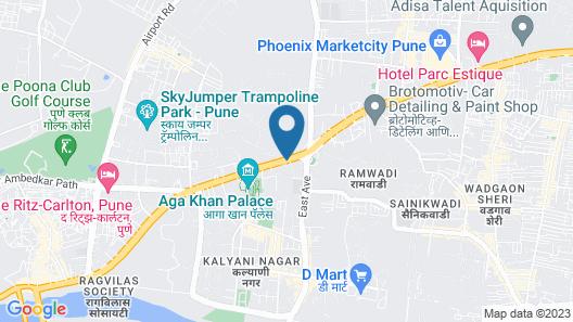 Hyatt Pune Map
