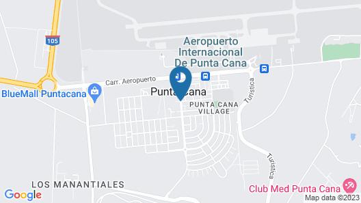 Four Points by Sheraton Puntacana Village Map