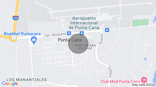 Modern 3BR Villa With Private Pool and Maid Service - Punta Cana Village Map