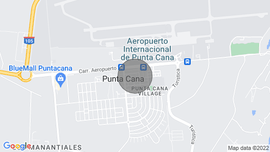 Steps of Punta Cana Airport Map
