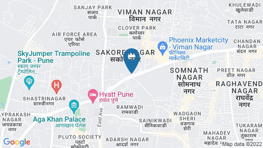 Novotel Pune Viman Nagar Hotel Map