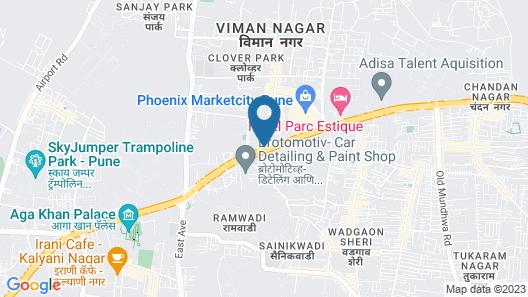 ibis Pune Viman Nagar Hotel Map