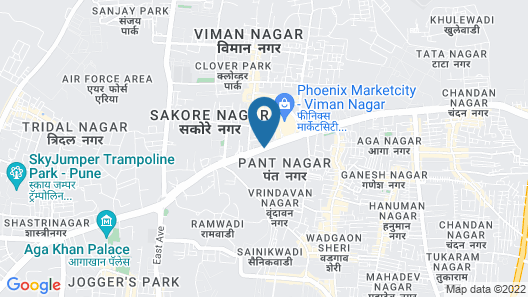Four Points by Sheraton Hotel & Serviced Apartments, Pune Map