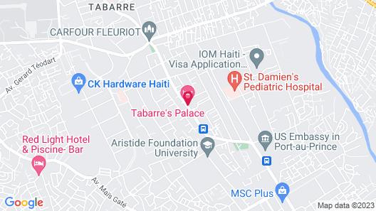 Sunshine Hotel Tabarre Map